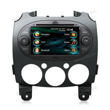 Touch Screen Car DVD Player car radio car GPS Navigation/Bluetooth/IPod/Radio for Mazda 2