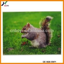 Custom popular vivid item 3d lenticular printing card/3d lenticular printing
