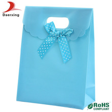 Best price! most popular colorful gift die cut plastic bag