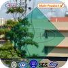 Metal frame polycarbonate sheet for bus shelter