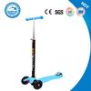 Children Cheap Kick Scooter With Three LED Flashing Light Wheels