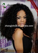 2012 fashion designed super curl jewish wig for black women