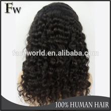 Faceworld hair mongolian kinky curly wig