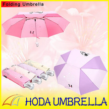 nice cat picture lover's umbrella for rain/folding umbrella for lover's