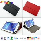 "Universal 8"" Leather Hard Case Cover for Tablets"