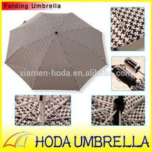 auto/manual open top quality unique English style fiberglass ribs fold umbrella