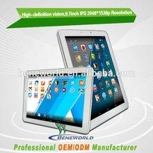 "9.7"" Rrtina 2048x1536 android tablet 2048*1536"