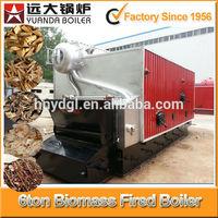 horizontal water tube bagasse boiler