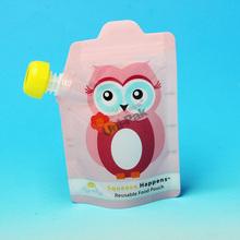 BPA Free kids spout food pouch