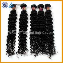 Unprocessed no mix deep wave brazillian hair