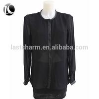fancy black tops for women