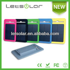Hot selling 10000mah power bank for tablet compete silicon case, waterproof and crashproof solar charger