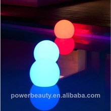 RGB colorful outdoor led light ball changing color with remote control