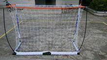 Large 6*4 Soccer Goal Net Velcro Straps Anchors Training Goals