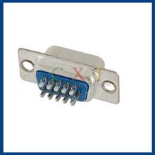 15HD VGA Male D-sub Solder Cup Connector (Silver)