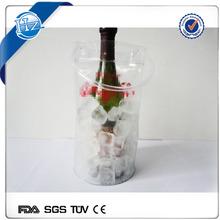 bottle cooler excellent ice gel custom pvc ice bag for cooling wine wholesale
