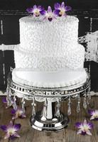 Wedding Cake Pedestal Silver Plate