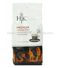 White coffee bag/ Side gusset coffee bag/ Plastic coffee bag