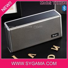 2014 high quality 5W* 2 mini portable wireless bluetooth speaker
