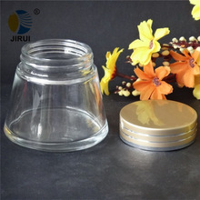 100g skin care cosmetic packaging ,empty glass cream jar,frosted glass cosmetic jars
