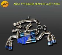 "CATBACK EXHAUST SYSTEM MUFFLER 4"" DUAL BURN TIP for AUDI TTS QUATTRO TFSI 08-13 (Fits: 2009 Audi)"