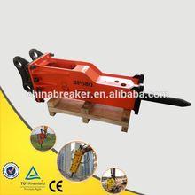 Construction Equipment Loader Backhoe Case 580/590 korean hydraulic breaker and hammer