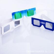 2014 cheap different style color paper 3D glasses