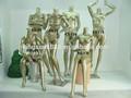 Sexy lifelike feminino manequins de fibra de vidro