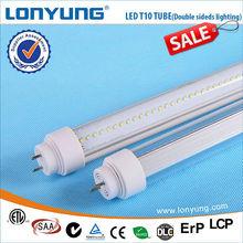 LED T10 Tube Dual-sided lighting 0.5m 0.7m 1.2m 1.5m 1.8m hyundai t10 3g tablet pc
