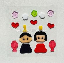 fridge door cover sticker jelly windows stickers Japan Gel Clings sublimation sticker