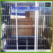 welded dog cage / dog cage aluminium ( China Anping ISO factory )