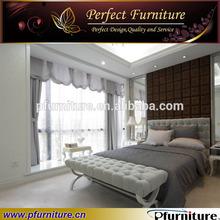 Latest wooden wedding bed designs PFB1006