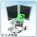 20w mini sistema solar con el inversor, de la batería, el panel, moblie cargador y la luz