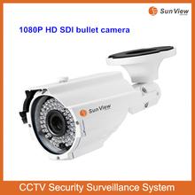 SunView cheap price outdoor waterproof security camera 1080P 60m long distance IR bullet HD SDI Camera