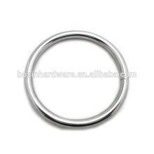Fashion High Quality Metal Chrome Plated O Ring