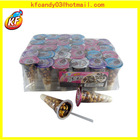 13G Delicious chocolate biscuit cup ice cream shape chocolate candy for kids