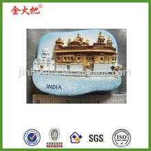 Handicraft golden temple india sikh fridge for refrigerator