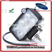 18W LED Work Light Lamp Driving ATV UTV Offroad Jeep Trailer 4x4 Flood LAMP