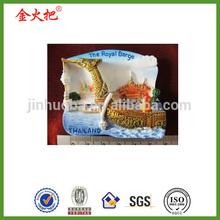 High quality thai royal barge thailand boats fridge magnet