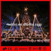 christmas decoration led pvc christmas tree ball snowflake and star
