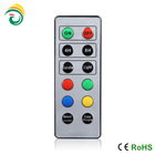 wireless lighting control with plastic button
