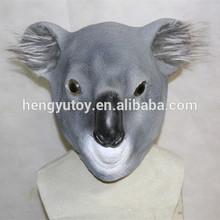 2014 caliente que vende realista de látex Koala máscara de disfraces de carnaval de dibujos animados
