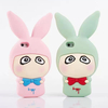 3D Cartoon Cute Little A Rabbit soft silicone Cover Case for Iphone 5 5s