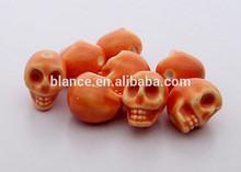 ceramic mini halloween skull figurine