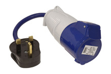 13A-16A Camping Fly Lead Converter