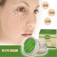 20pcs pack color eye cream anti-aging China Wholesale 10gram Vitamin E eye cream reduce fine lines anti-aging eye cream