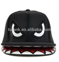 Shark Mouth Teeth Double Brim Trucker Hat Snapback Cap