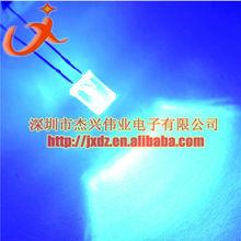 LED light emitting diode square 2x5x7 hair blue highlight