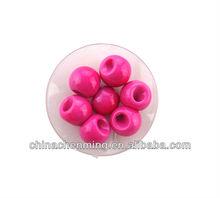 wholesale fashion cheap loose round ball make plastic bracelet