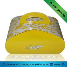 Hot selling cake gift packaging handbag and box